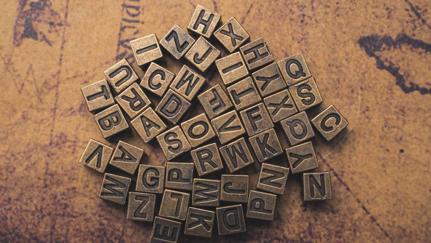 Conjunto de letras