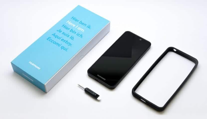 Packaging teléfono