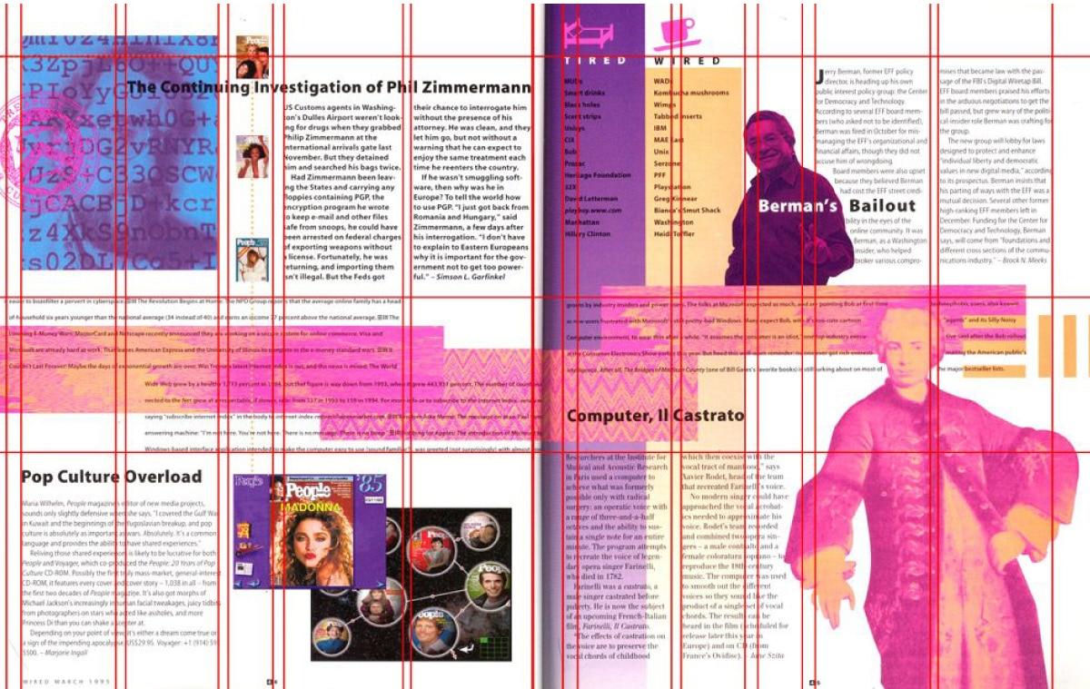 Maquetar revistas con retícula