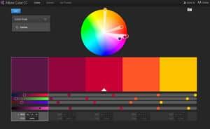 Adobe combinación de colores
