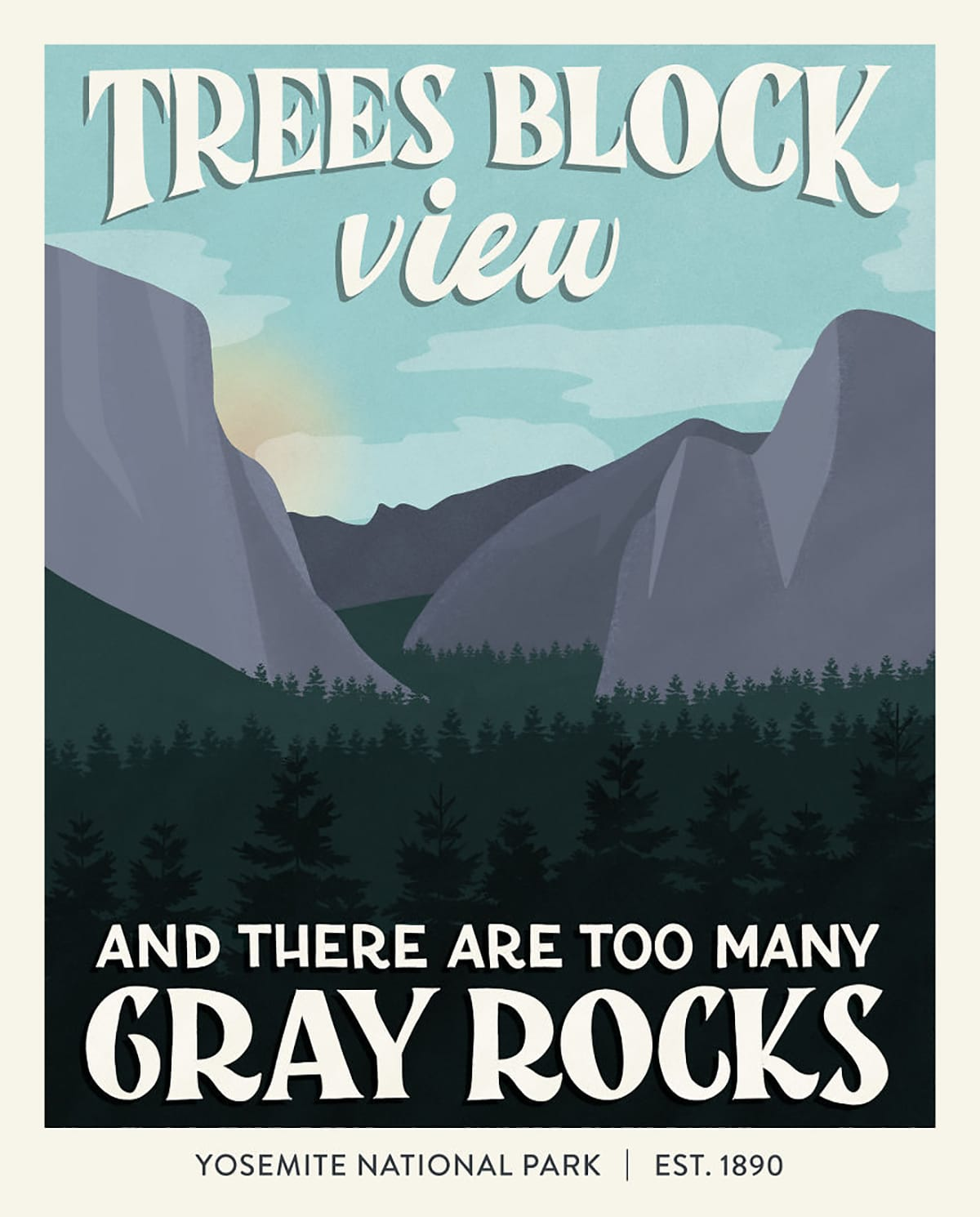 Cartel Yosemite