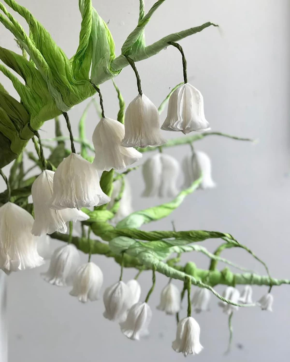 Enormes ramos de flores