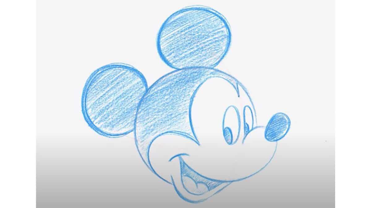Cómo dibujar personajes Disney