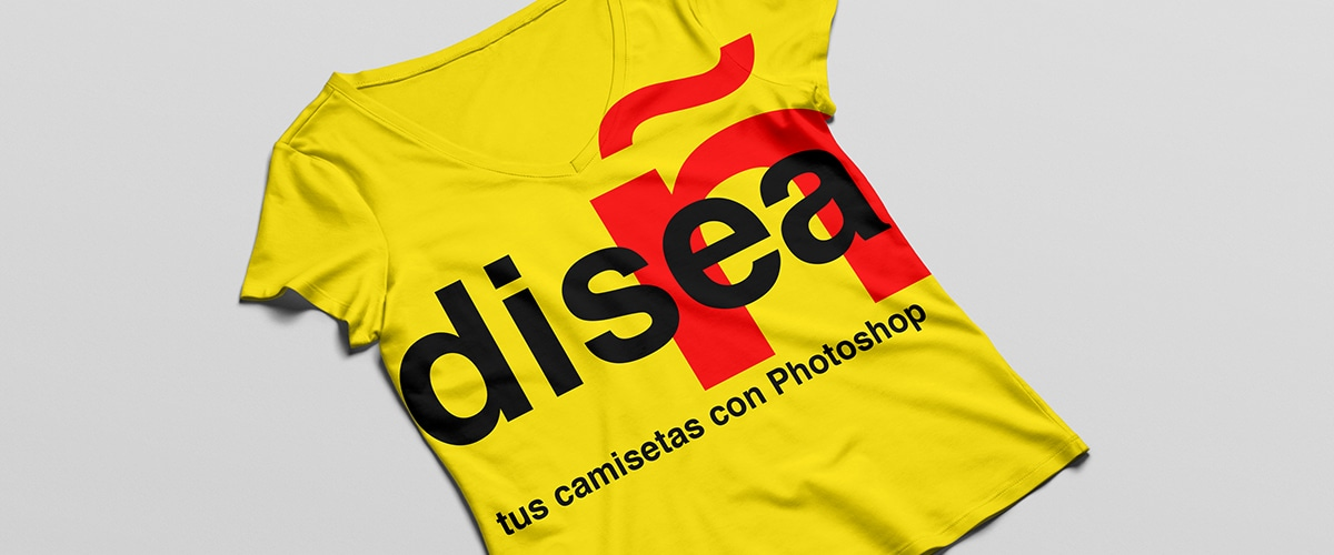 Diseña camisetas con Adobe Photoshop