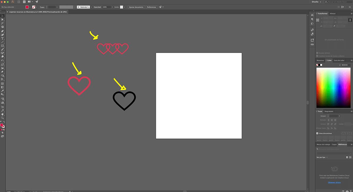 Exportar en Illustrator de forma profesional