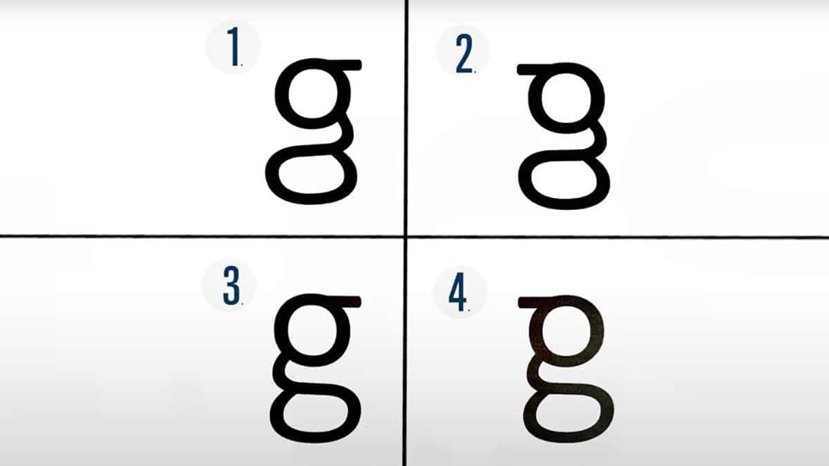 cual es la g correcta