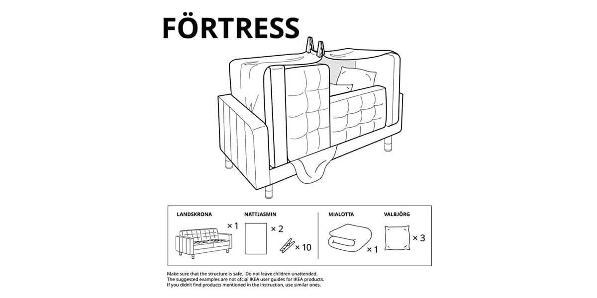 IKEA castillo