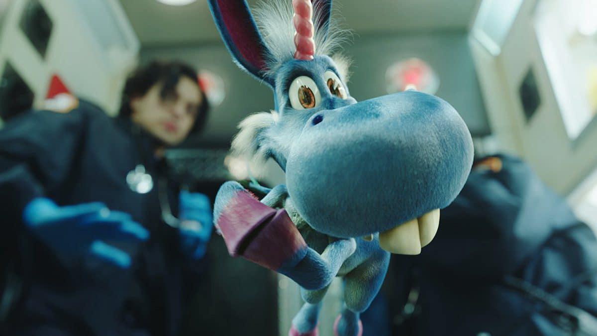 Happy la serie del unicornio loco