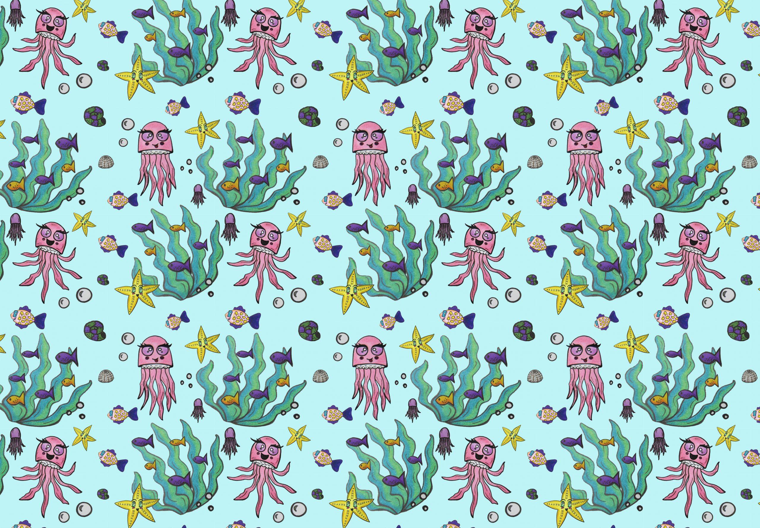Pattern de medusas
