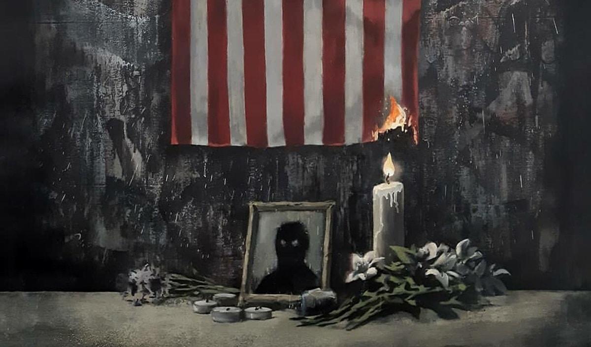 Banksy Floyd racismo