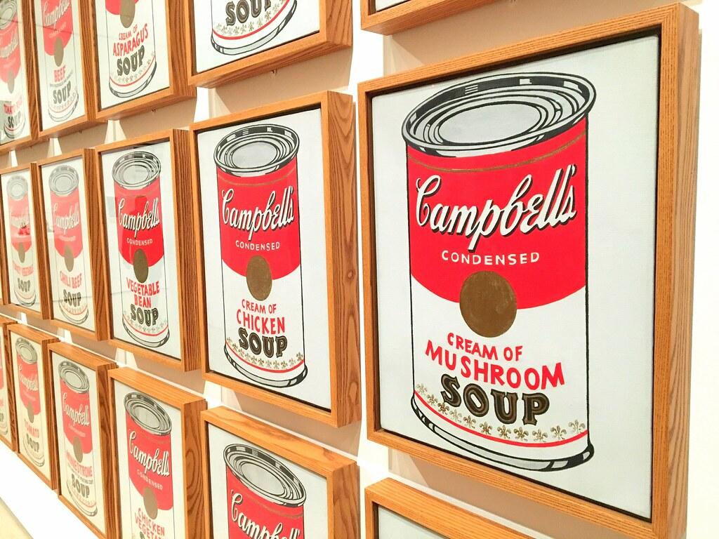 Cuadros de Warhol