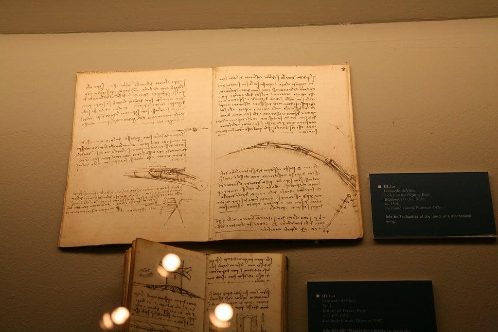 Cuadernos de Da Vinci