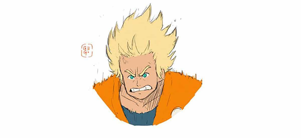 Goku estilo Ghibli