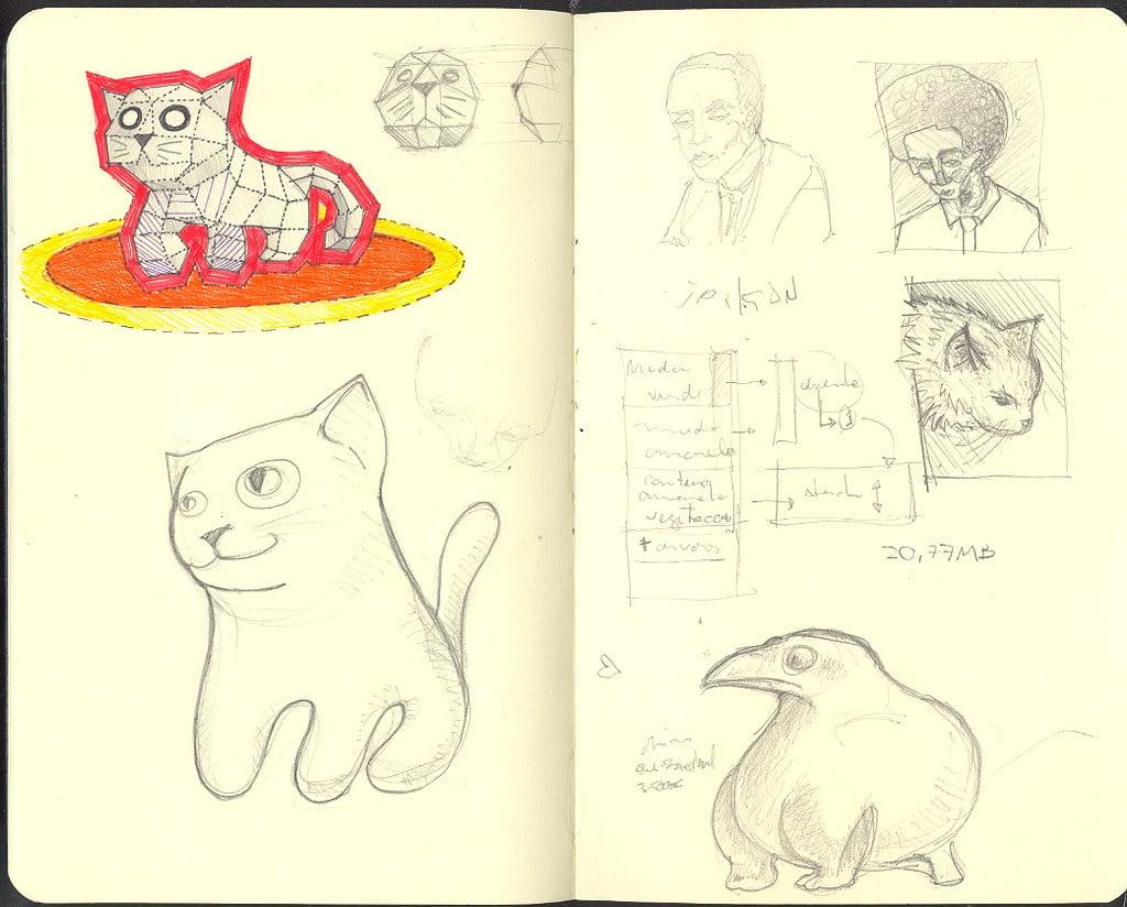 Libreta de dibujo