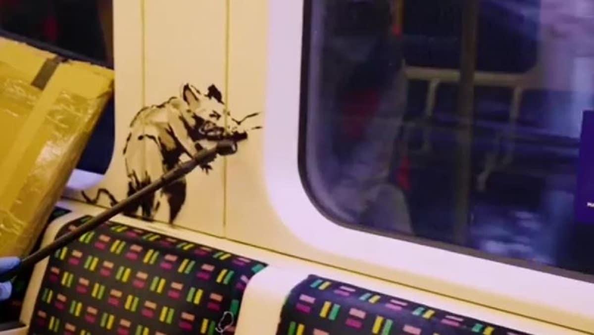 Banksy metro de Londres