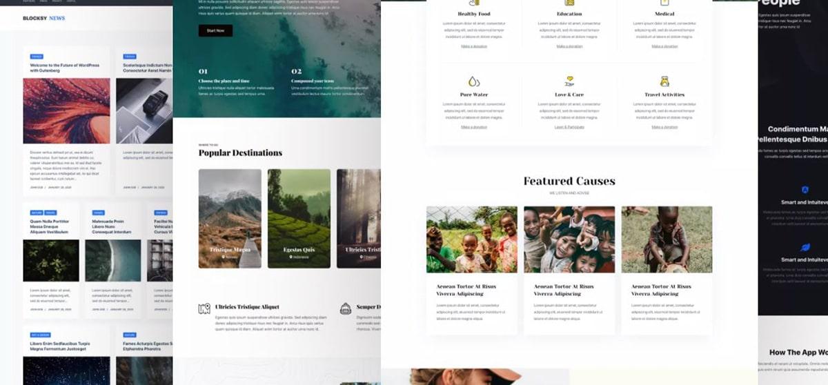 Mejores temas gratis en Wordpress