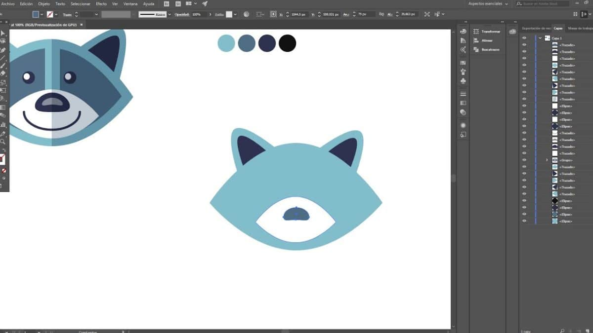 Cómo funciona el Buscatrazos de Illustrator