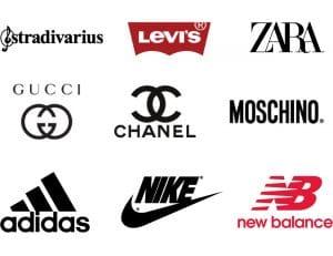 Los mejores logotipos de marcas de ropa