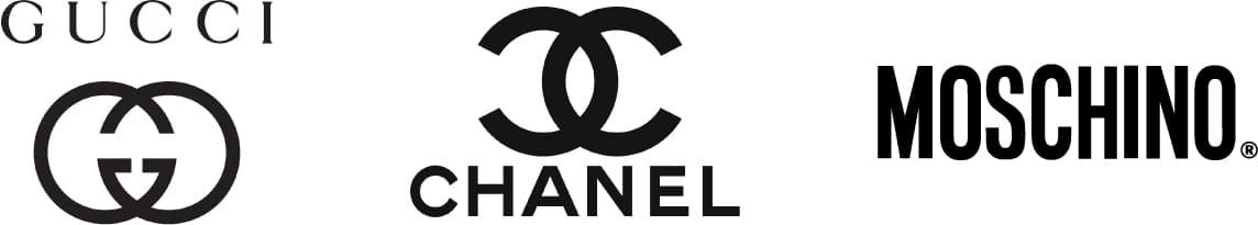Mejores logotipos de marcas de moda de lujo