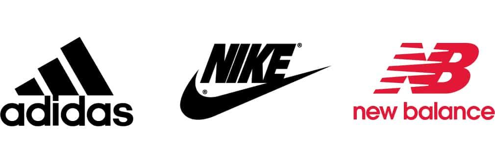 Los tres mejores logotipos de marcas de ropa deportiva