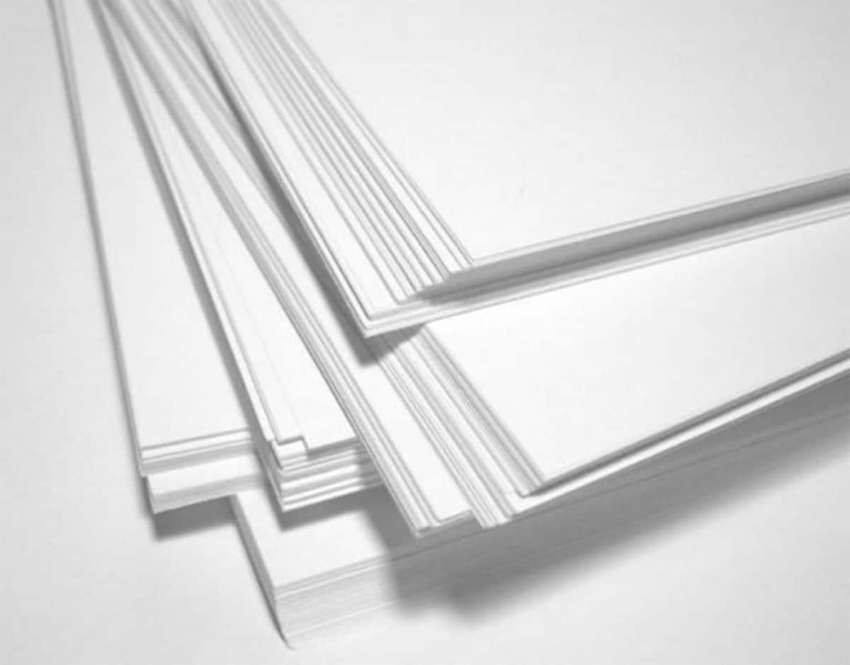 Papel repro, offset o de impresión
