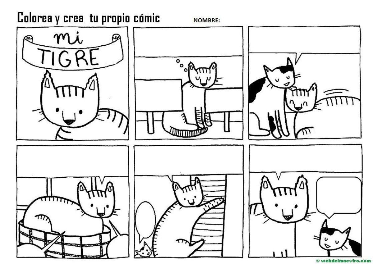 Cómics fáciles de dibujar