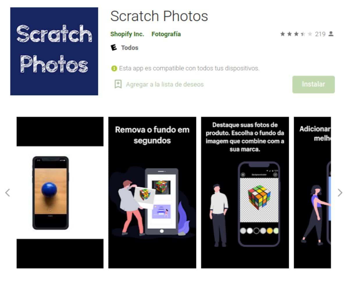 Scratch Photos