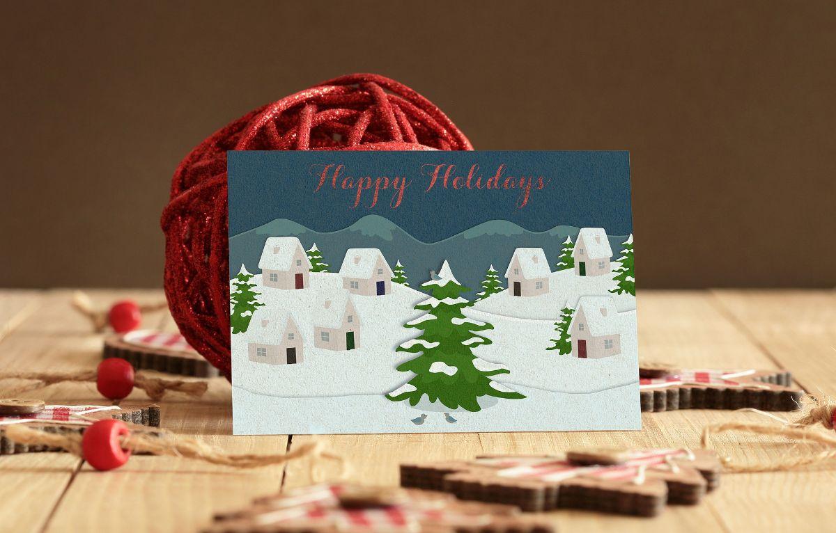 Cómo crear tus tarjetas navideñas personalizadas