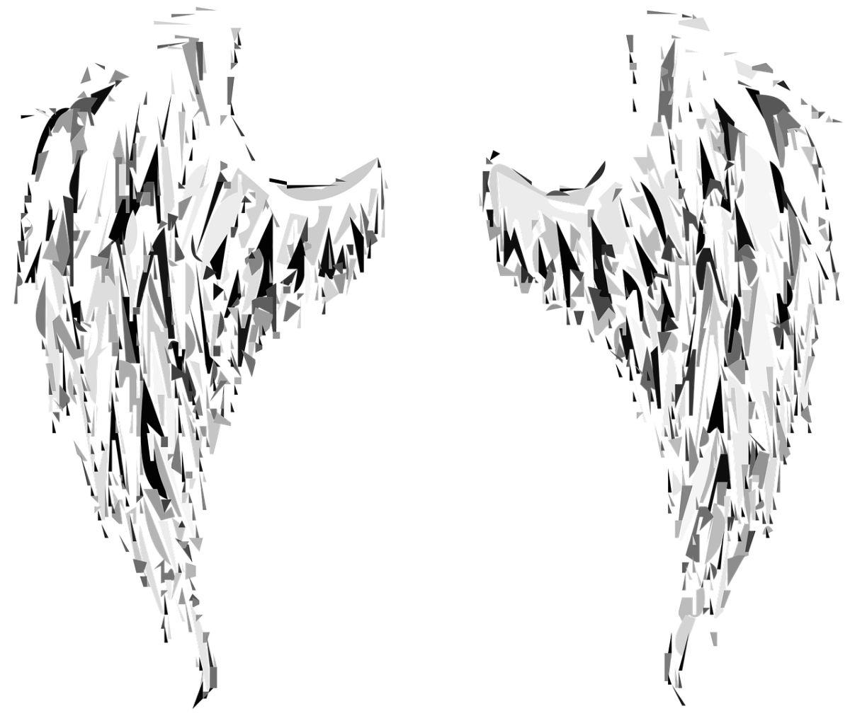 ¿Es sencillo dibujar unas alas?