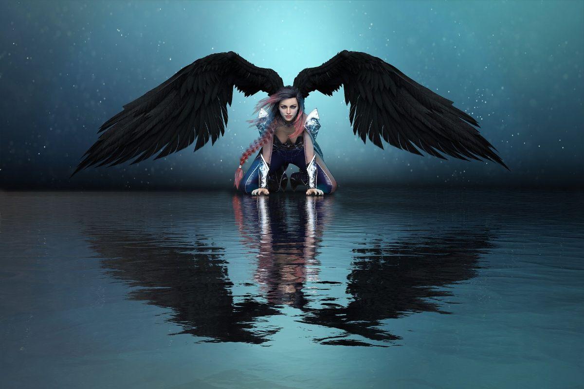 El significado de las alas de ángel