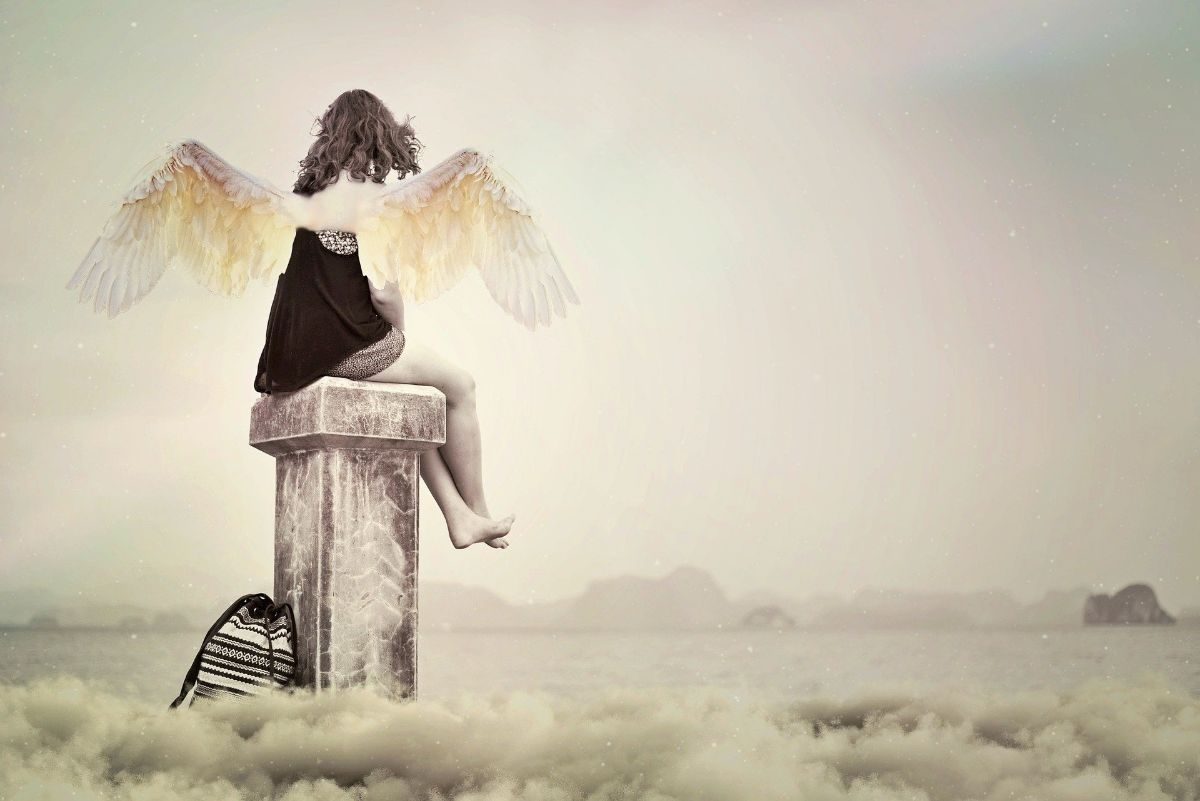 alas de angel fotos