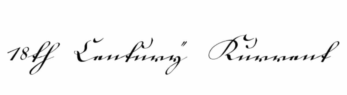Letra cursiva: fuentes que puedes utilizar