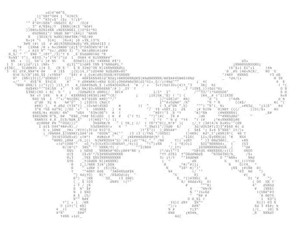 Cómo crear dibujos de arte ASCII