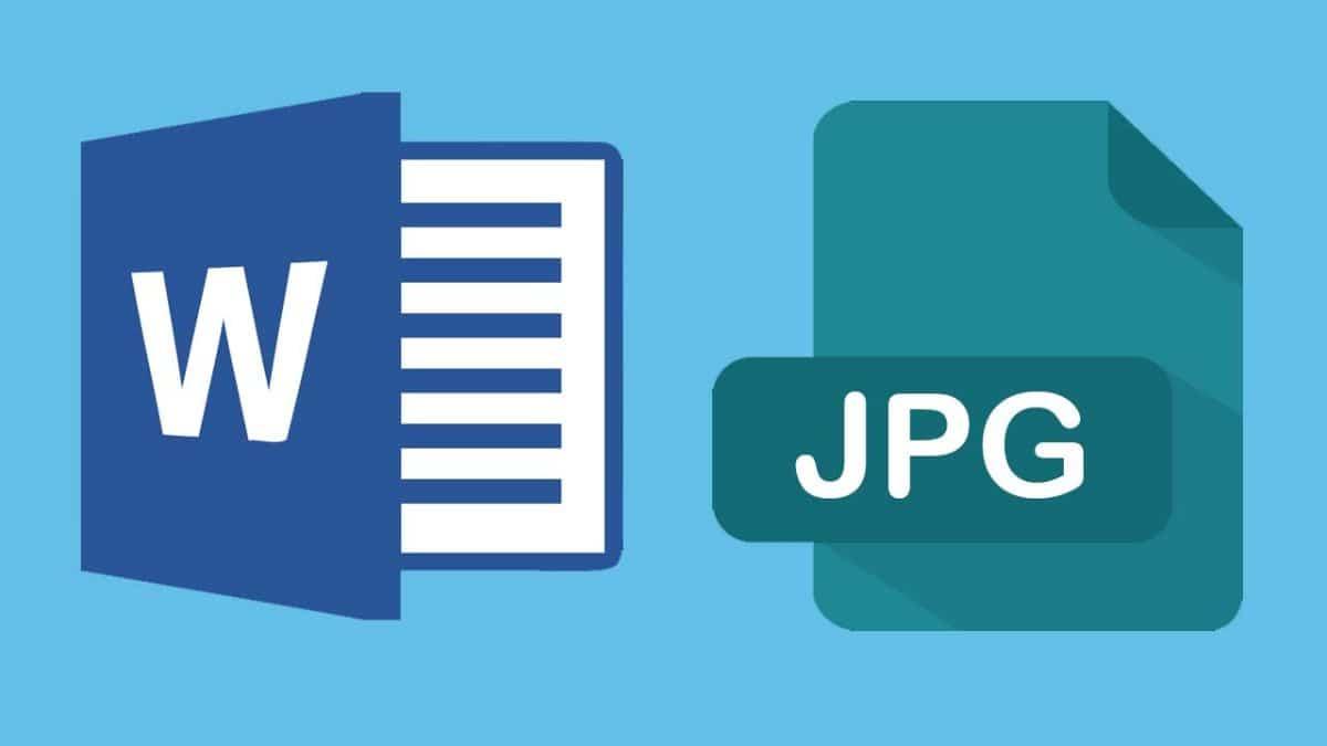 Programas para convertir Word a JPG