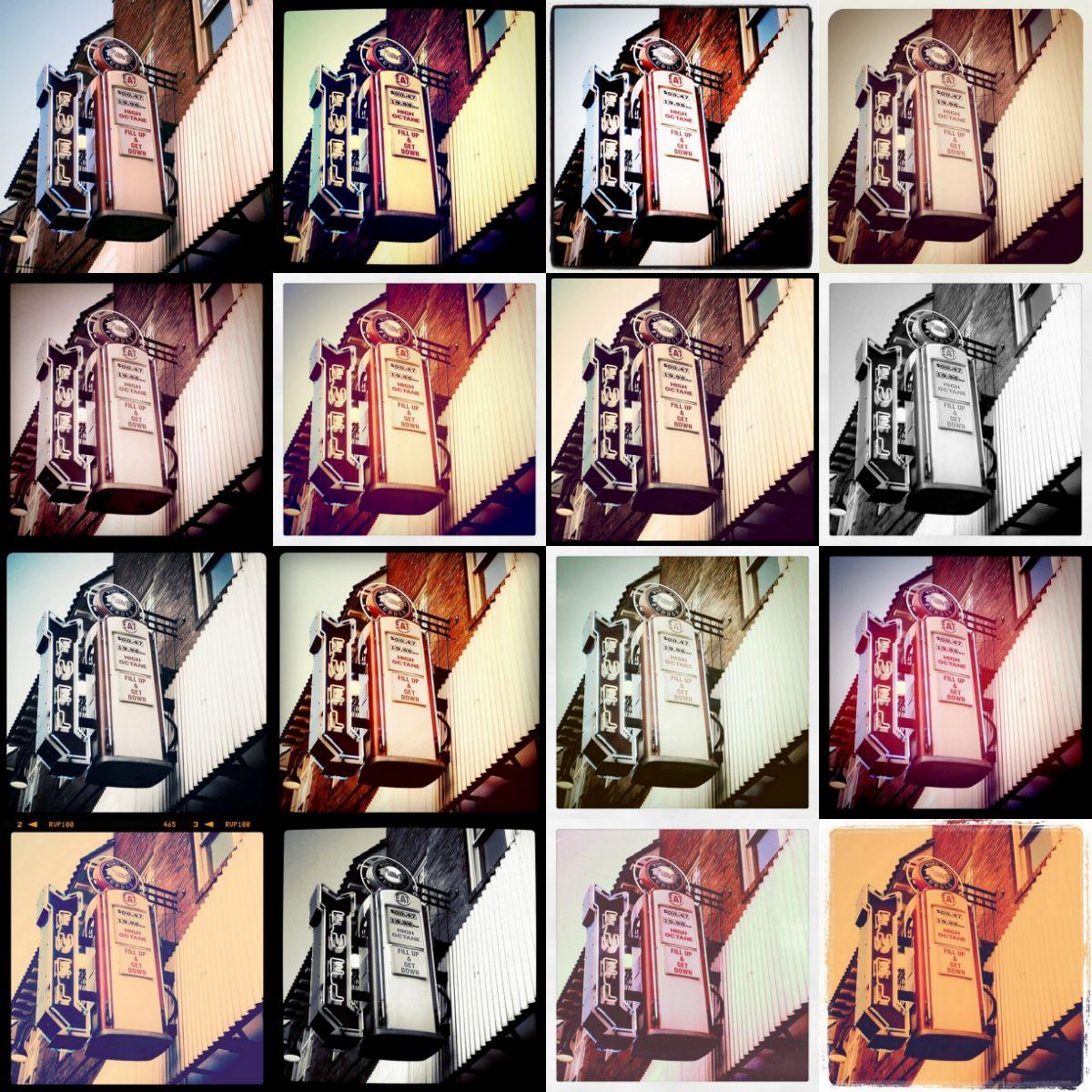 Tipos de filtros de Instagram