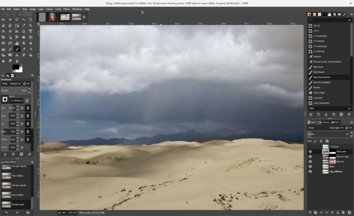Mejor editor de fotos para PC gratis: GIMP