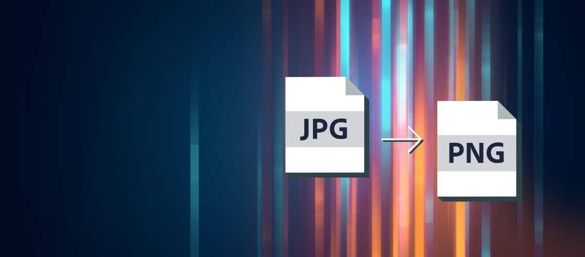 convertir una imagen JPG a PNG