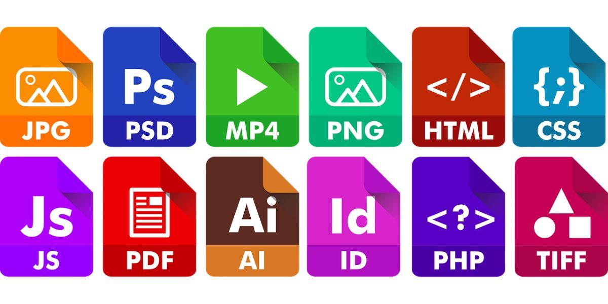 Tipos de formatos de imagen