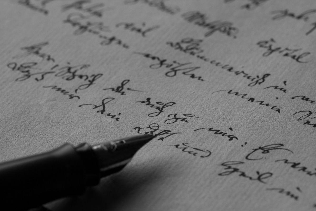 Letra cursiva: fuentes