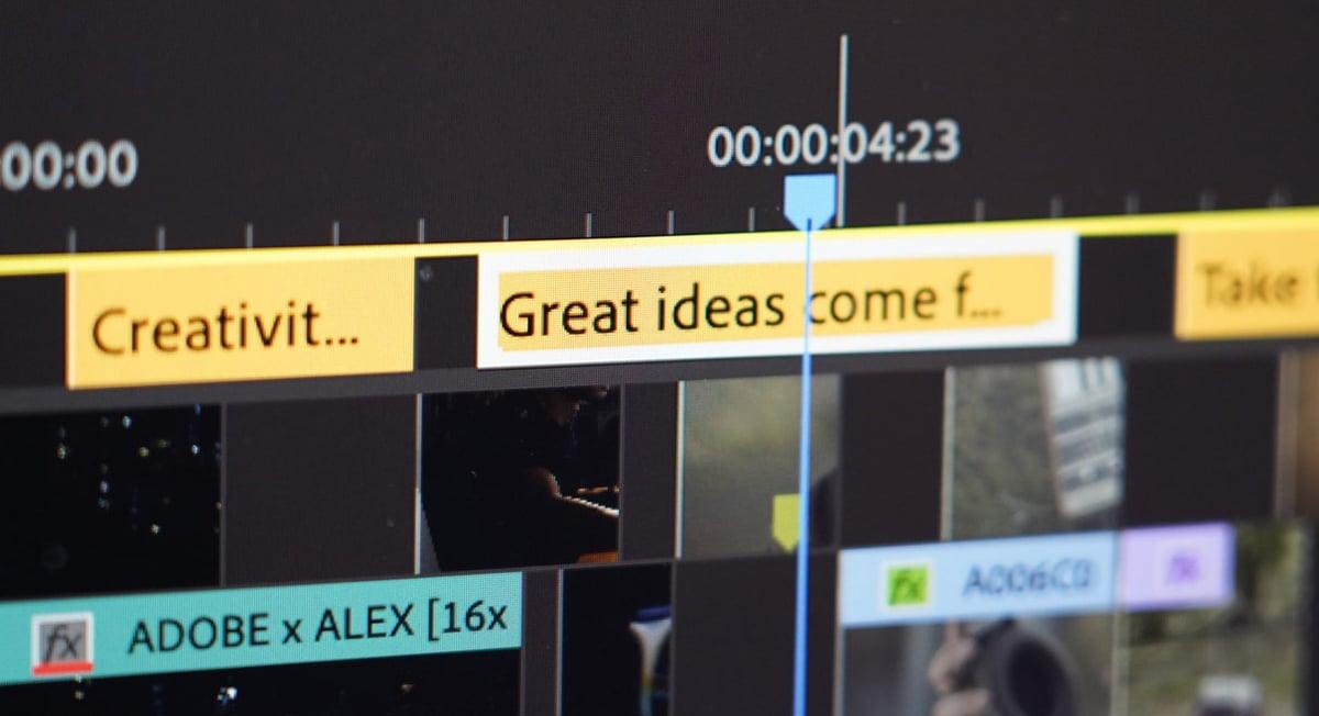 Nuevo flujo de trabajo de Adobe para el vídeo