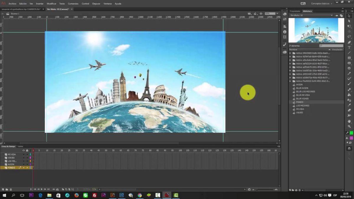 Qué es Adobe animate CC
