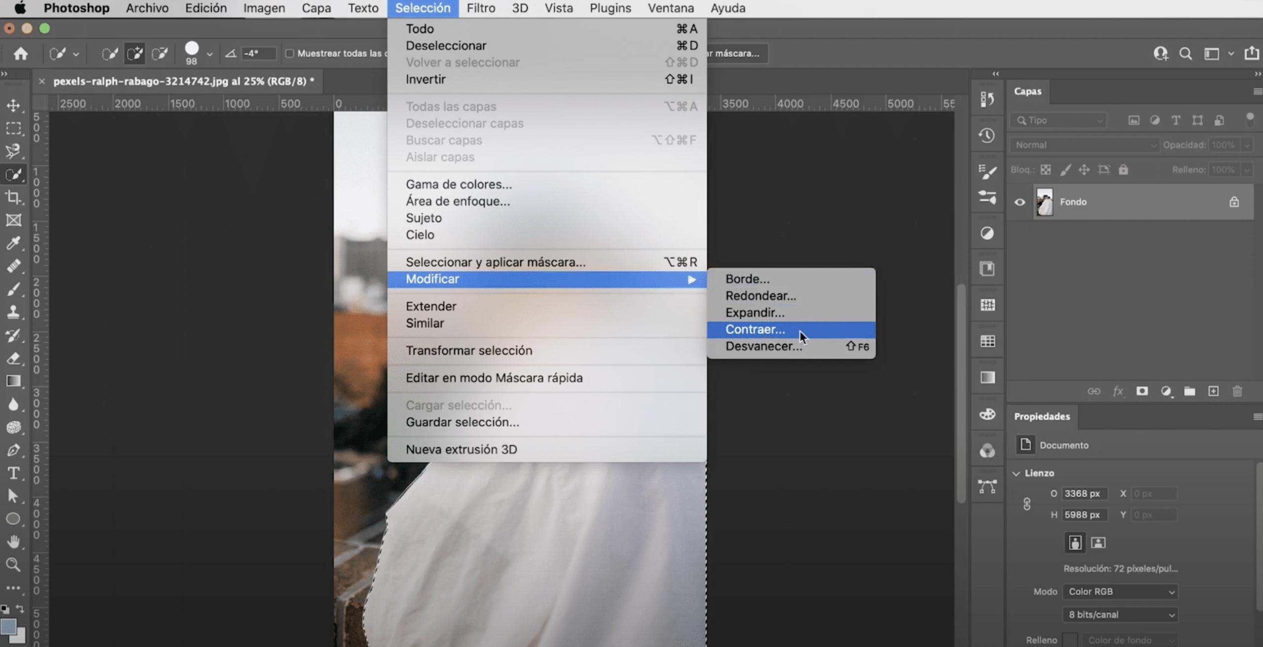 Photoshopでエッジを滑らかにし、選択を強化する方法