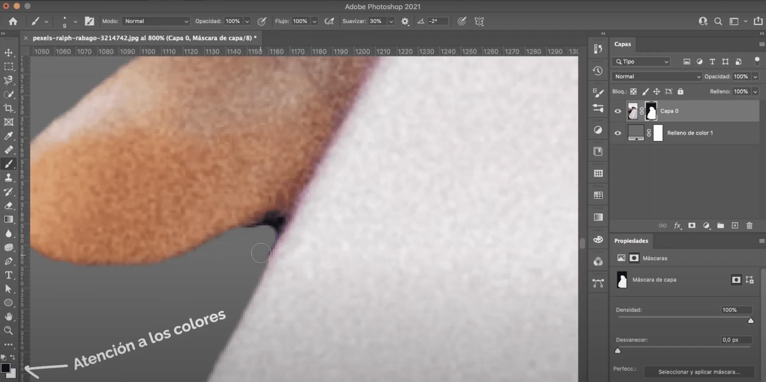Photoshopのレイヤーマスクを使用して選択を修正および強化する方法
