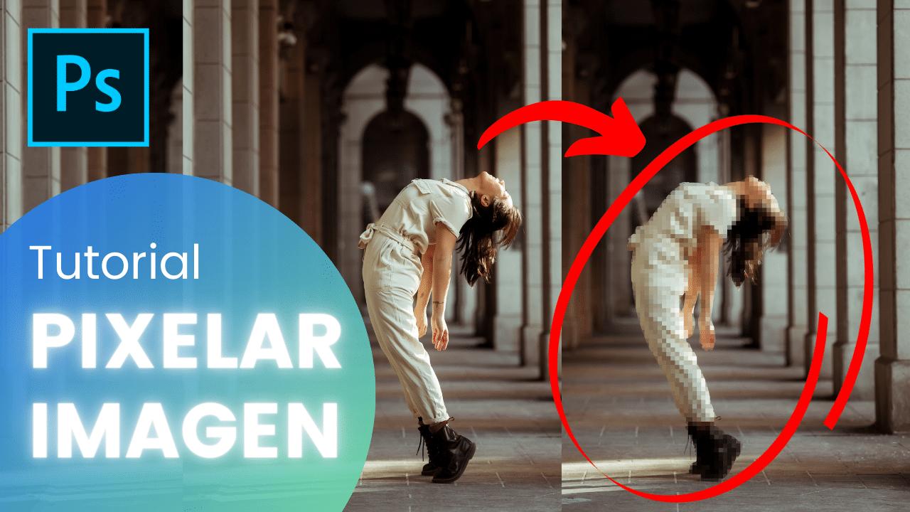 Cómo pixelar partes de una imagen en Adobe Photoshop
