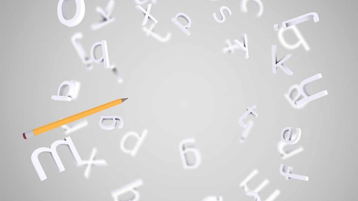Cómo dibujar letras en 3D
