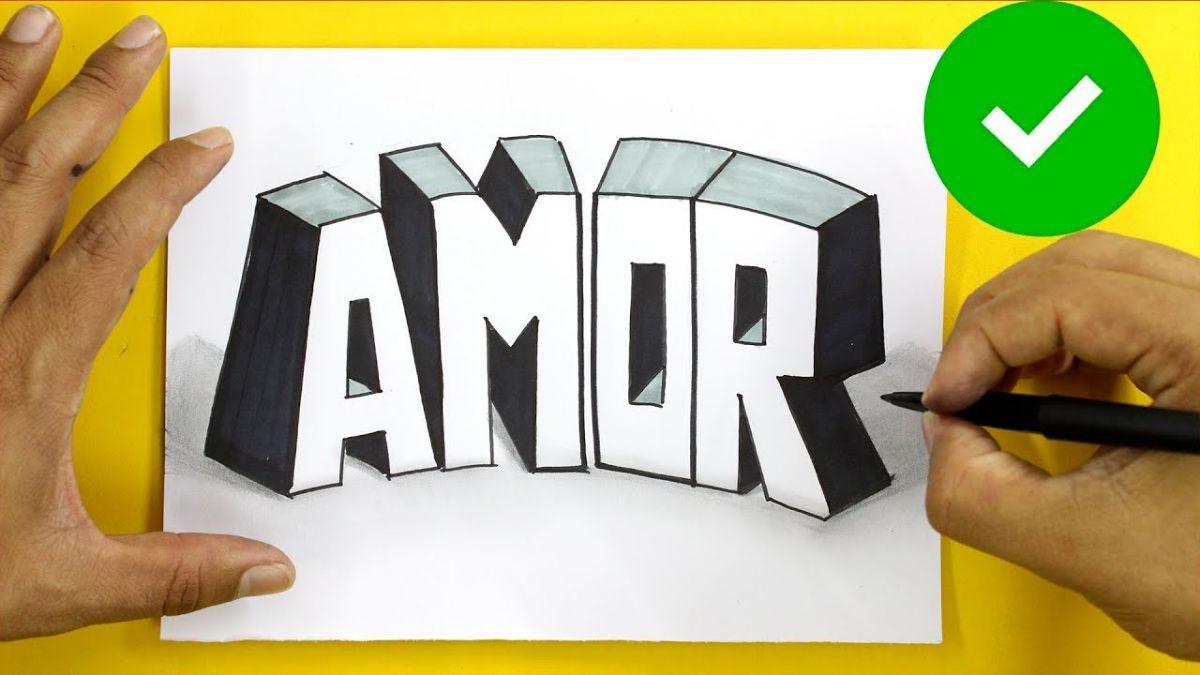 Qué son las letras 3D