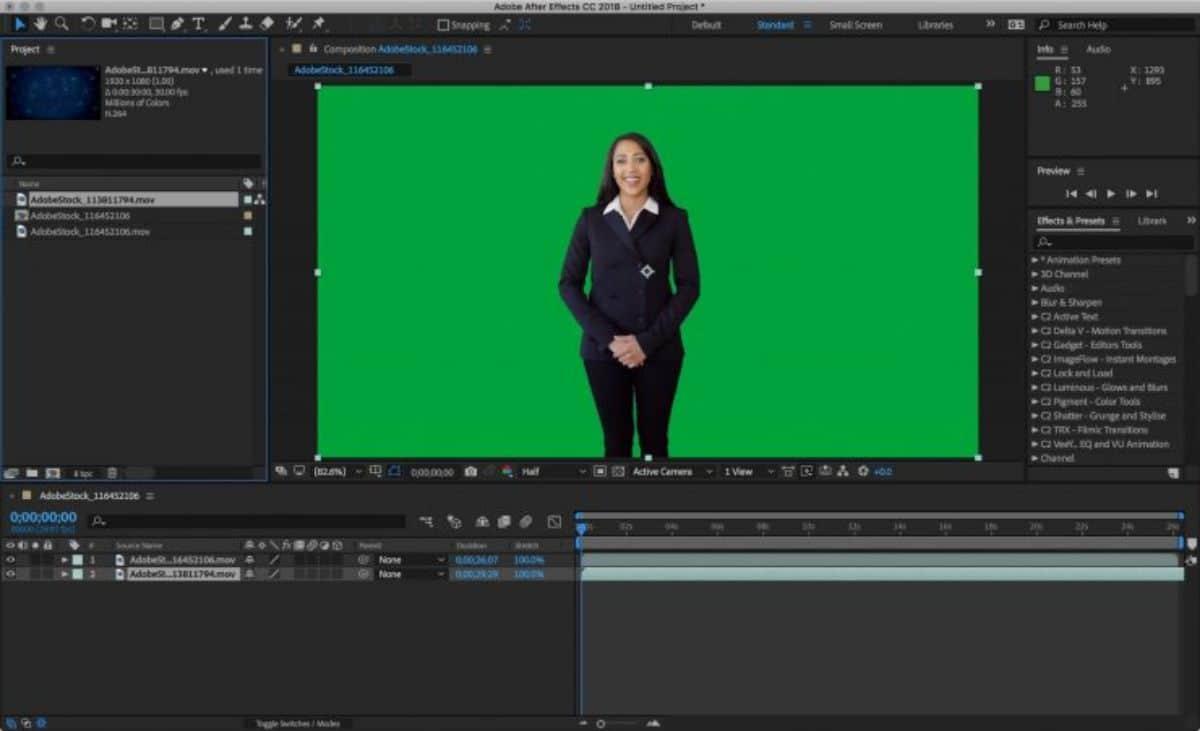Programas para crear videos:Adobe After Effects