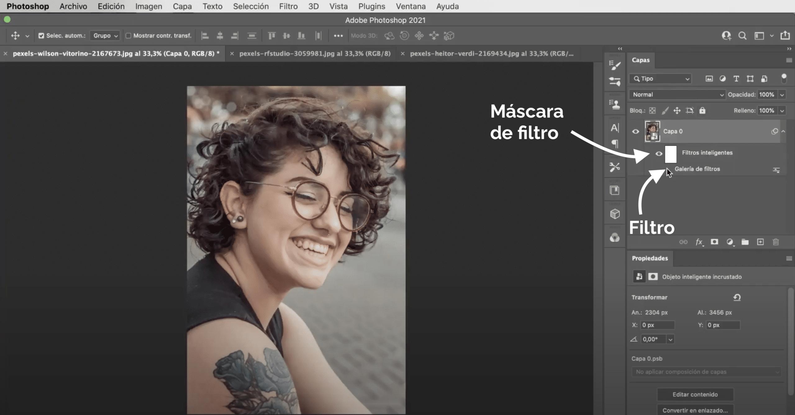 Cómo aplicar filtros inteligentes en Photoshop