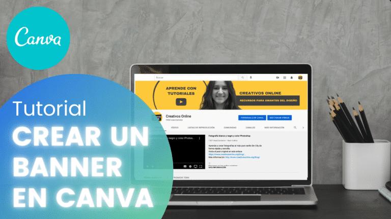 Cómo crear un banner para YouTube en Canva