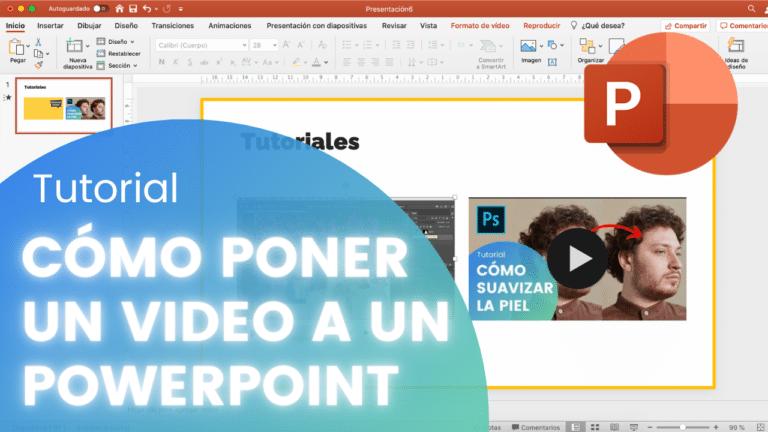 Cómo poner un video en tu PowerPoint
